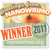 NaNoWriMo 2011 Winner