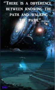 """There is a difference between knowing the path and walking the path."" -Morpheus"
