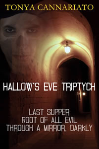 Hallow's Eve Triptych by Tonya Cannariato