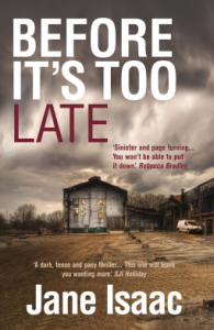 Before It's Too Late by Jane Isaac